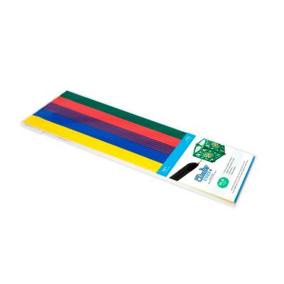 Набор стержней из PLA-пластика для проф. исп. с 3Doodler Create - ХУДОЖНИК (25 шт, глянец)