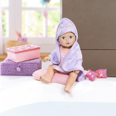 Интерактивная кукла BABY ANNABELL - НАУЧИ МЕНЯ ПЛАВАТЬ (43 см, с аксессуарами, плавает в воде)