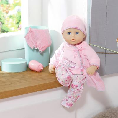 Интерактивная кукла MY FIRST BABY ANNABELL - УДИВИТЕЛЬНАЯ МАЛЫШКА (36 см, аксесс., звук, синхр. c планшетом)