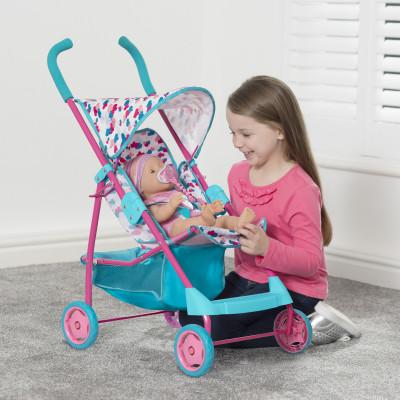 Коляска для куклы BABY BORN - ИДЕМ НА ПРОГУЛКУ (прогулочная)