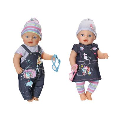 Набор одежды для куклы BABY BORN - ДЖИНСОВОЕ НАСТРОЕНИЕ  (2 в ассорт.)