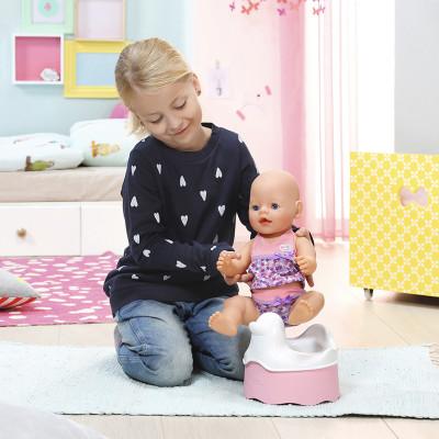 Интерактивный горшочек для куклы BABY BORN - УТОЧКА (звук)