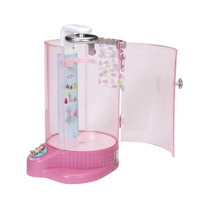 Автоматическая душевая кабинка для куклы BABY BORN - ВЕСЕЛОЕ КУПАНИЕ (с аксессуаром)