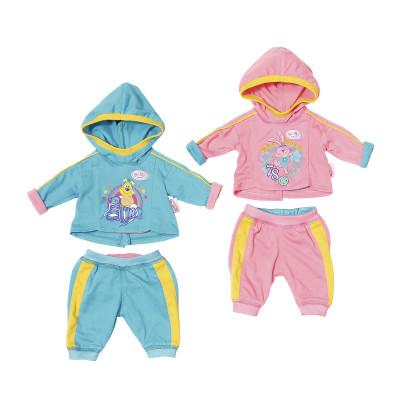 Одежда для куклы BABY BORN - СПОРТИВНЫЙ СТИЛЬ (2 в ассорт.)