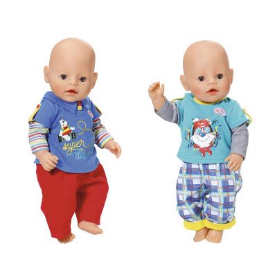 Набор одежды для куклы BABY BORN - МАЛЫШ НА ПРОГУЛКЕ (2 в ассорт.)