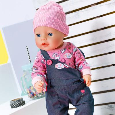 Кукла BABY BORN - ДЖИНСОВЫЙ СТИЛЬ (43 см, с аксессуарами)