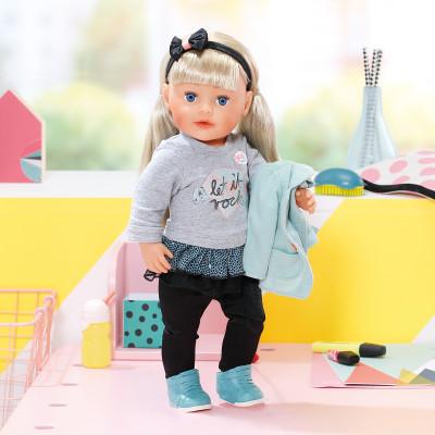 Кукла BABY BORN - СЕСТРЁНКА-МОДНИЦА (43 см, с аксессуарами)