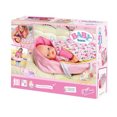 Люлька-переноска для куклы BABY BORN 2 в 1 - ЯРКИЕ СНЫ