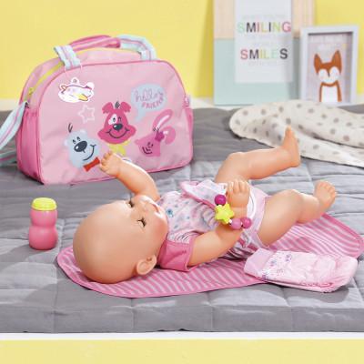 Сумка для куклы BABY BORN - МАМИНА ЗАБОТА (с аксессуарами)