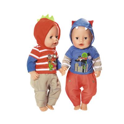 Набор одежды для куклы BABY BORN - АКТИВНЫЙ МАЛЫШ (2 в ассорт.)