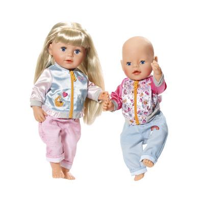 Набор одежды для куклы BABY BORN - СПОРТИВНИЙ КЭЖУАЛ  (2 в ассорт.)