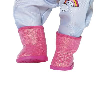 Обувь для куклы BABY BORN - РОЗОВЫЕ САПОЖКИ