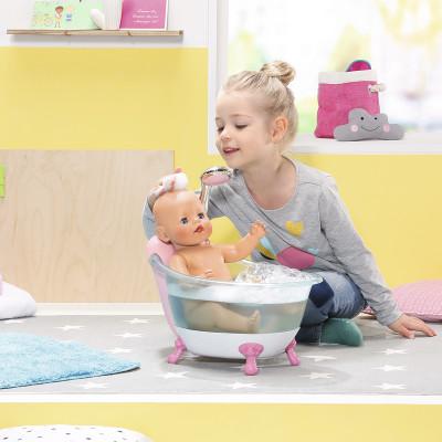 Автоматическая ванночка для куклы BABY BORN - ВЕСЕЛОЕ КУПАНИЕ (свет, звук)