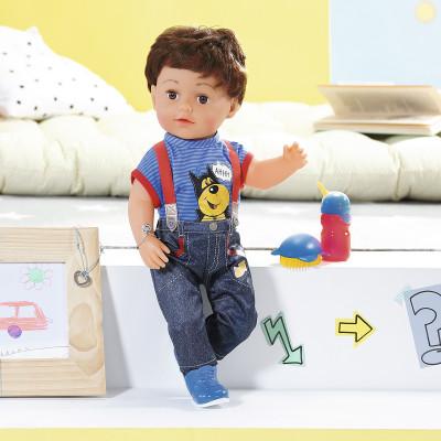 Кукла BABY BORN - СТАРШИЙ БРАТИК (43 см, с аксессуарами)