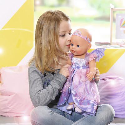 """Кукла BABY BORN серии """"Нежные объятия"""" - ПРИНЦЕССА-ФЕЯ (43 см, с аксессуарами)"""