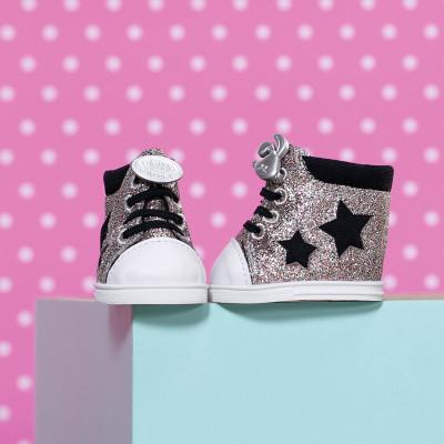 Обувь для куклы BABY BORN - БЛЕСТЯЩИЕ КЕДЫ (2 в ассорт)