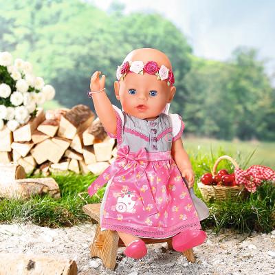 """Кукла BABY BORN серии """"Нежные объятия"""" - НАРЯДНАЯ МАЛЫШКА (43 cm, с аксессуарами)"""