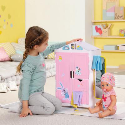 Игровой набор BABY BORN - ГАРДЕРОБ С УТОЧКОЙ И ПРОГНОЗОМ ПОГОДЫ