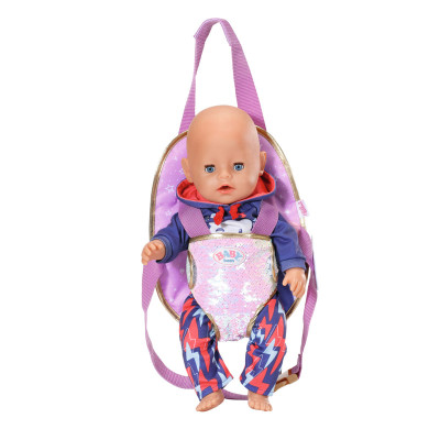 """Рюкзак-кенгуру для куклы BABY BORN серии """"День Рождения"""" - ПРОГУЛКА"""