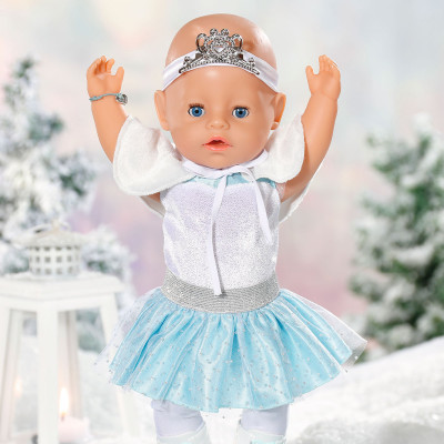"""Кукла BABY BORN серии """"Нежные объятия"""" - БАЛЕРИНКА-СНЕЖИНКА (43 см, с аксессуарами)"""