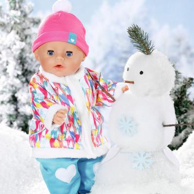 """Кукла BABY BORN серии """"Нежные объятия"""" - ЗИМНЯЯ МАЛЫШКА (43 cm, с аксессуарами)"""