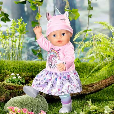 """Кукла BABY BORN серии """"Нежные объятия"""" - ОЧАРОВАТЕЛЬНЫЙ ЕДИНОРОГ (43 cm, с аксессуарами)"""