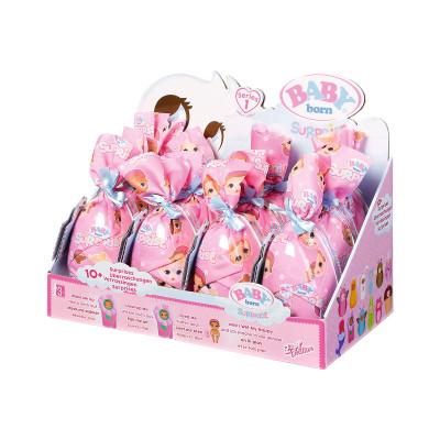Игровой набор с куклой BABY BORN - ОЧАРОВАТЕЛЬНЫЙ СЮРПРИЗ (в ассорт, в диспл.)