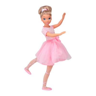 Кукла BAMBOLINA MOLLY- ПРИМА-БАЛЕРИНА (90 см, с аксессуарами)