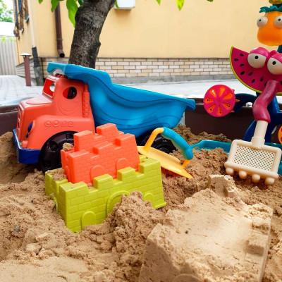 Набор для игры с песком - ЧУДОСАМОСВАЛ (6 аксессуаров)
