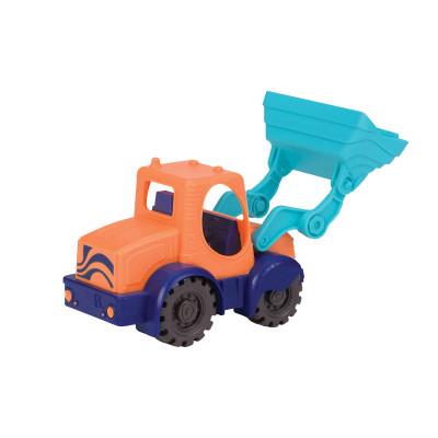 Игрушка для игры с песком - МИНИ-ЭКСКАВАТОР (цвет морской-мандариновый-океан)