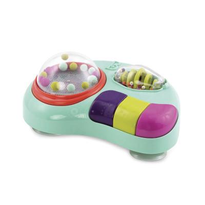 Музыкальная игрушка - ШАРИКИ-ФОНАРИКИ (свет, звук, на присосках)