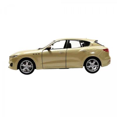 Автомодель - MASERATI LEVANTE (ассорти серебристый, золотой, 1:24)