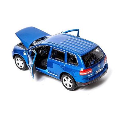 Автомодель - VOLKSWAGEN TOUAREG (ассорти красный металлик, синий металлик 1:24)