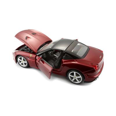 Автомодель - FERRARI CALIFORNIA T (ассорти бордо, серый металлик, 1:24)