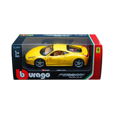Автомодель - F430 FIORANO (ассорти желтый, красный, 1:24)