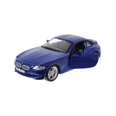 Автомодель - BMW Z4 M COUPE (синий  металлик,  1:32)