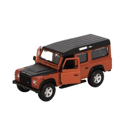 Автомодель - LAND ROVER DEFENDER 110 (ассорти белый, оранжевый металлик 1:32)