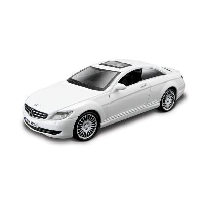 Автомодель - MERCEDES-BENZ CL-550 (белый, черный, 1:32)