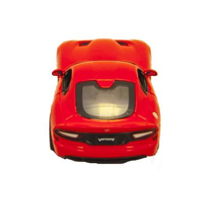 Автомодель - SRT VIPER GTS (2013) (красный, 1:32)