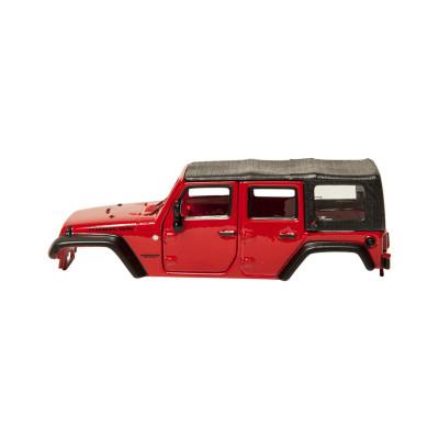 Авто-конструктор - JEEP WRANGLER UNLIMITED RUBICON (красный, 1:32)