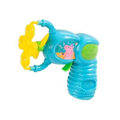 Игровой набор с мыльными пузырями PEPPA PIG – БАББЛ-ВСПЛЕСК (с электронным бластером)