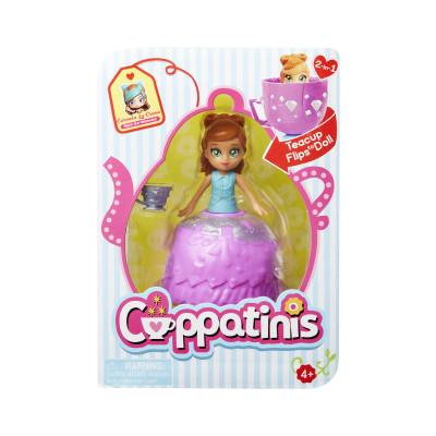 Кукла CUPPATINIS S1 - КАРМЕЛА МАКИАТО (10 см, с аксессуаром)