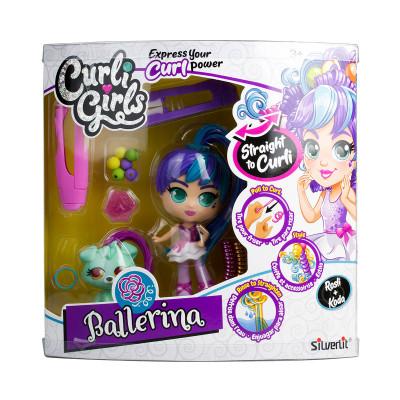 Игровой набор с куклой и питомцем CURLIGIRLS - БАЛЕРИНА РОСЛИ И КОДА