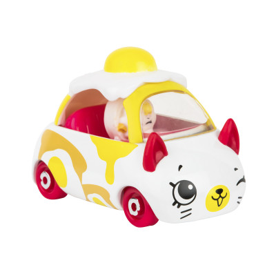 Мини-машинка SHOPKINS CUTIE CARS S3 - ОМЛЕТОМОБИЛЬ (с мини-шопкинсом)