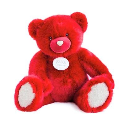 Мягкая игрушка DOUDOU – МЕДВЕЖОНОК КРАСНЫЙ (80 cm)