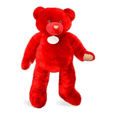 Мягкая игрушка DOUDOU – МЕДВЕЖОНОК КРАСНЫЙ (200 cm)