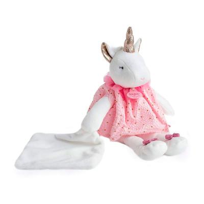 Мягкая игрушка DOUDOU – ЕДИНОРОГ (26 cm)