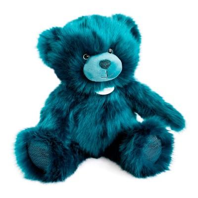 Мягкая игрушка DOUDOU – МЕДВЕЖОНОК ТЕМНО-БИРЮЗОВЫЙ (40 cm)