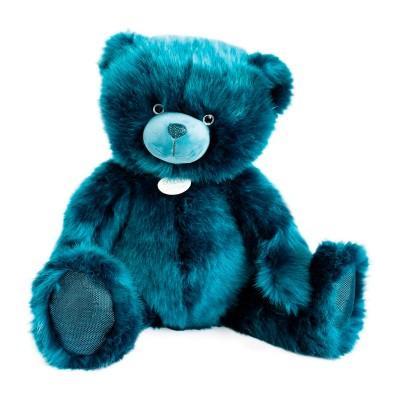 Мягкая игрушка DOUDOU – МЕДВЕЖОНОК ТЕМНО-БИРЮЗОВЫЙ (80 cm)