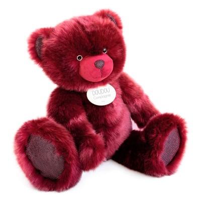 Мягкая игрушка DOUDOU – МЕДВЕЖОНОК БОРДОВЫЙ (80 cm)